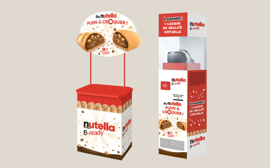 NUTELLA B-Ready animation magasin